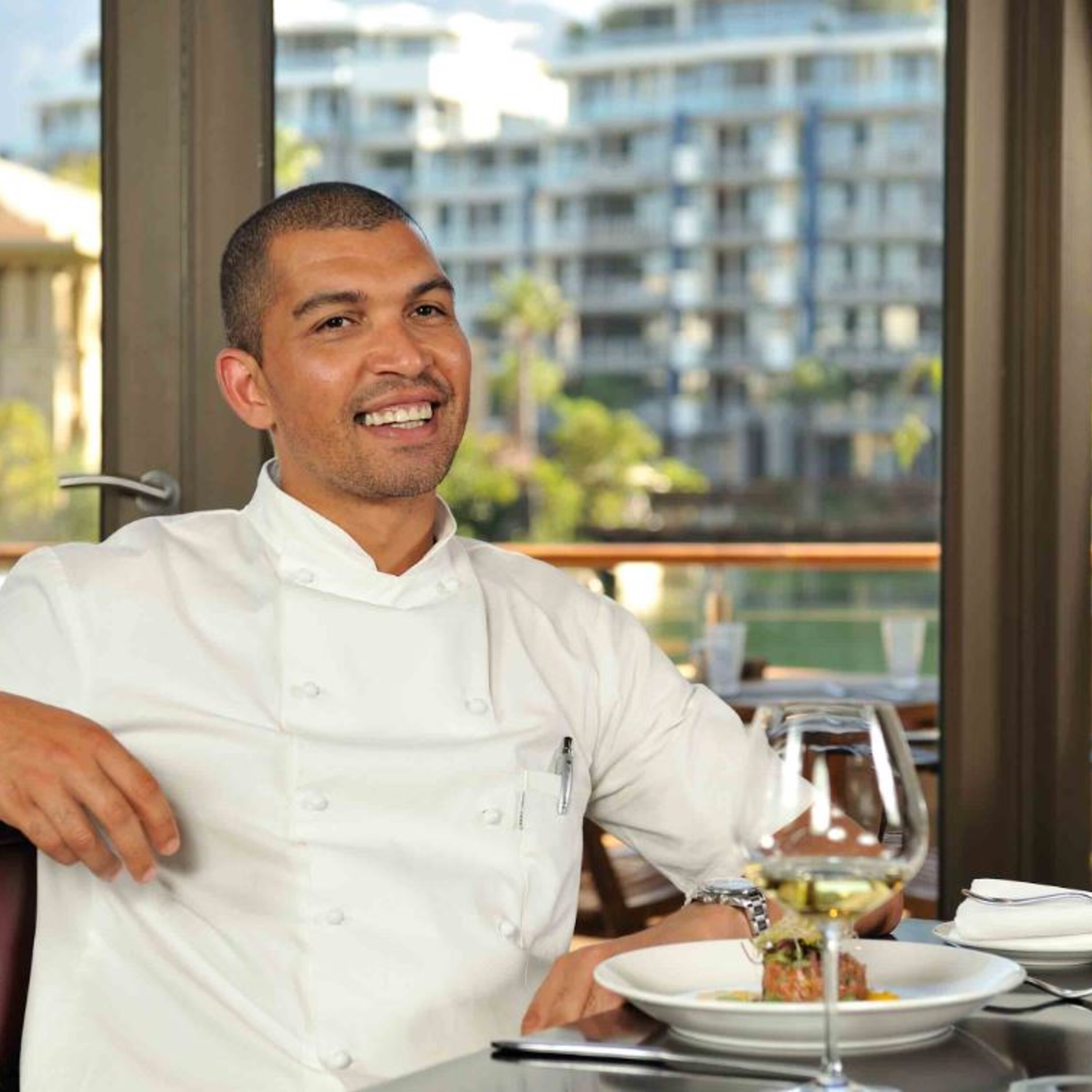 Celebrity chef Reuben Riffel on food, of course, but also on money