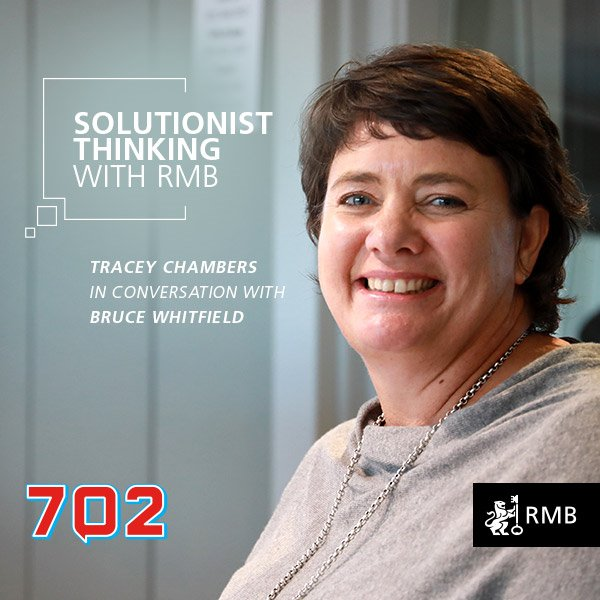 Solutionist Thinking Ep 7 - Tracey Chambers