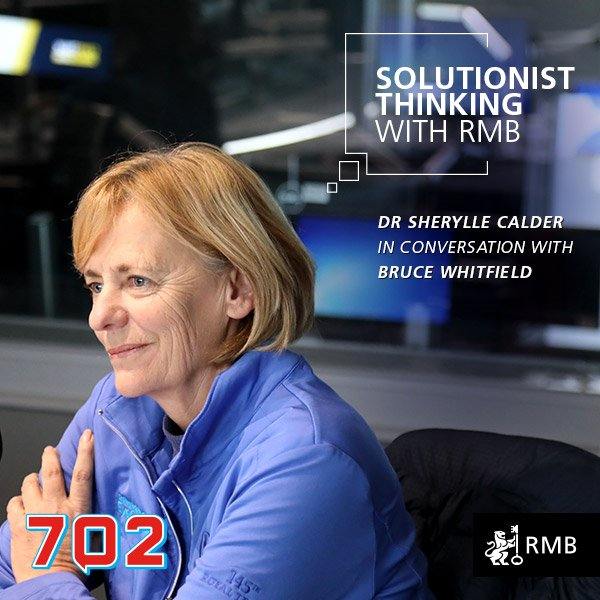 Solutionist Thinking Ep 11 - Dr Sherylle Calder