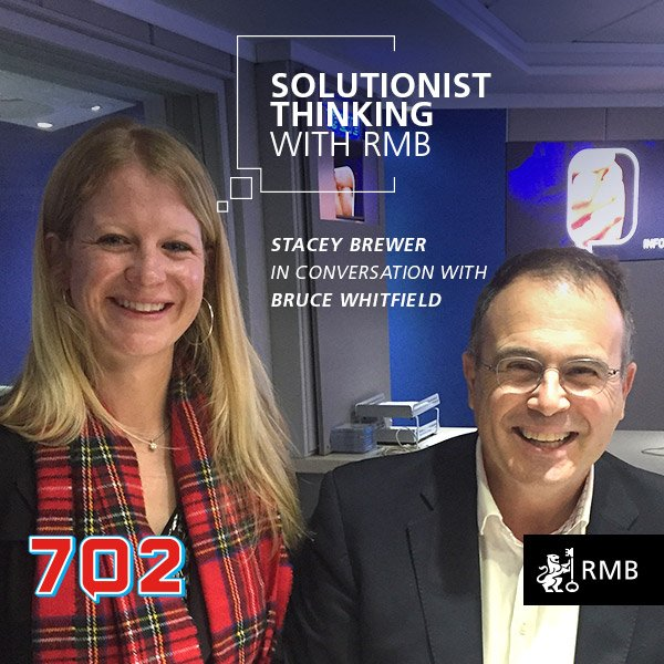 Solutionist Thinking Ep 9 - Stacey Brewer