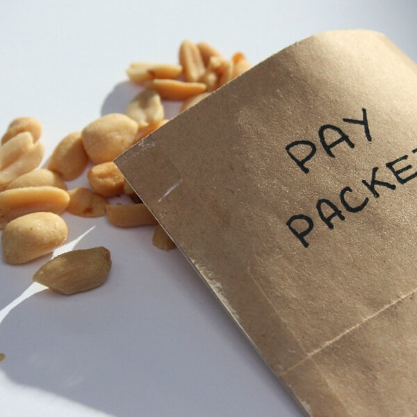 Average salary in SA is R6400 per month, but 70% of workers earn less