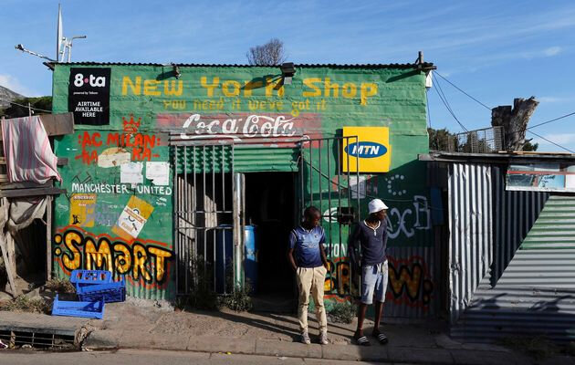 Zande provides credit via phone to spaza shop in the form of the goods they sell