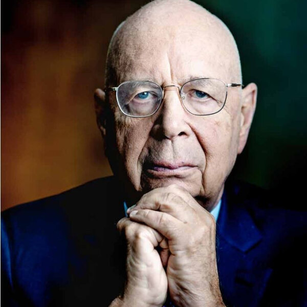 Who is Klaus Schwab and could he help save the World