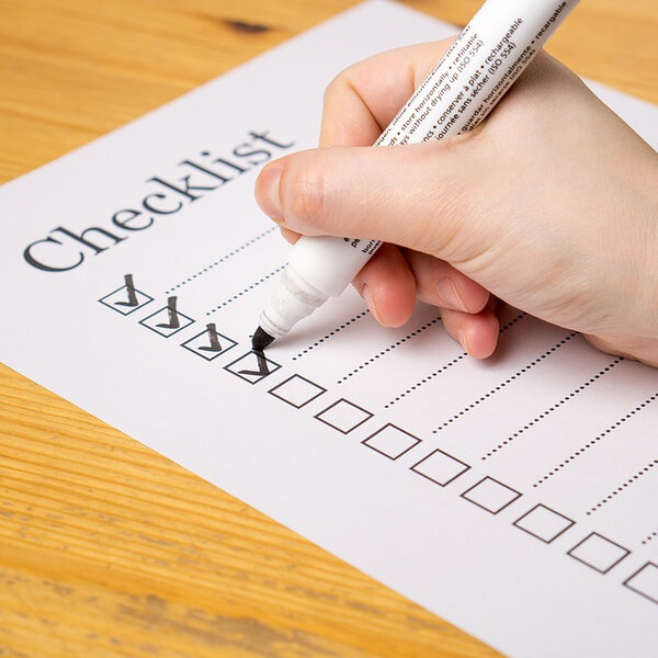 Use this handy checklist to see if your investments are OK