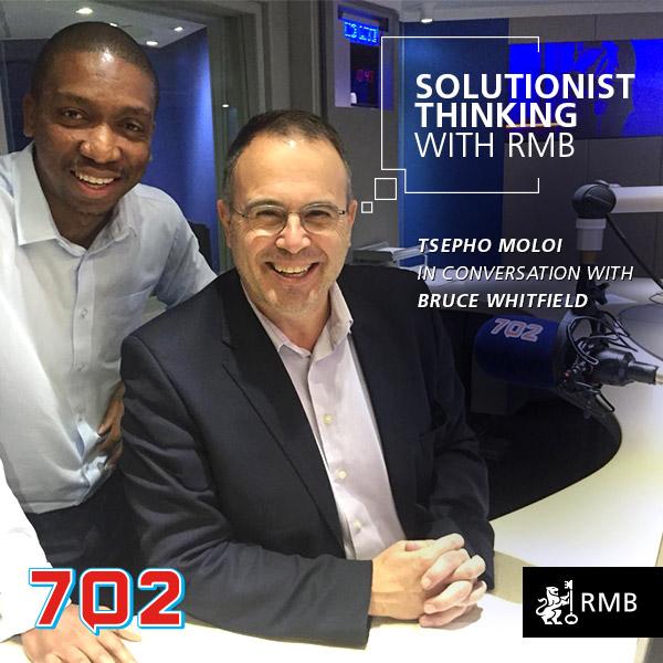 Solutionist Thinking Ep 10 - Tshepo Moloi
