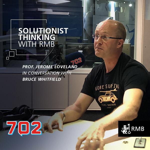 Solutionist Thinking Ep 8 - Jerome Loveland