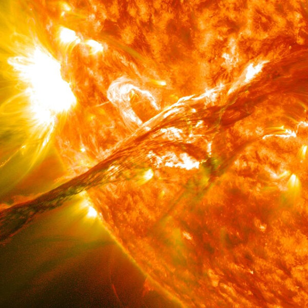 Space weather: sunny with a chance of destruction