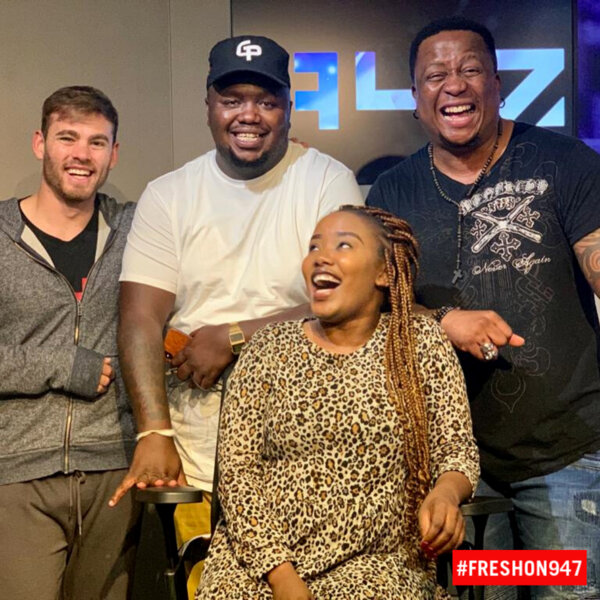 DJ Fresh and team talk to Skhumba about his Big Banger Comedy Tour #FreshOn947