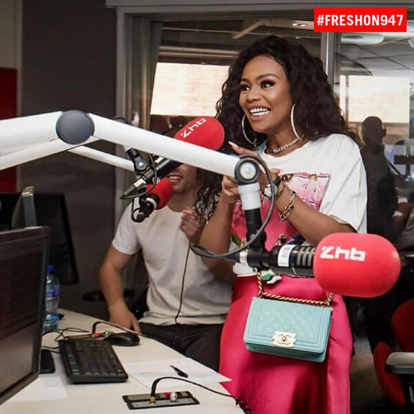 DJ Fresh and the team had a lovely chat with the beautiful Bonang Mateba. Take a listen t o this!