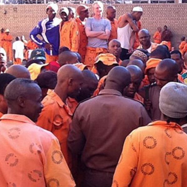 SA prisons are overcrowded by 37%