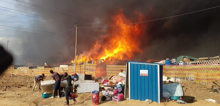 500 shacks affected by Alexandra fire