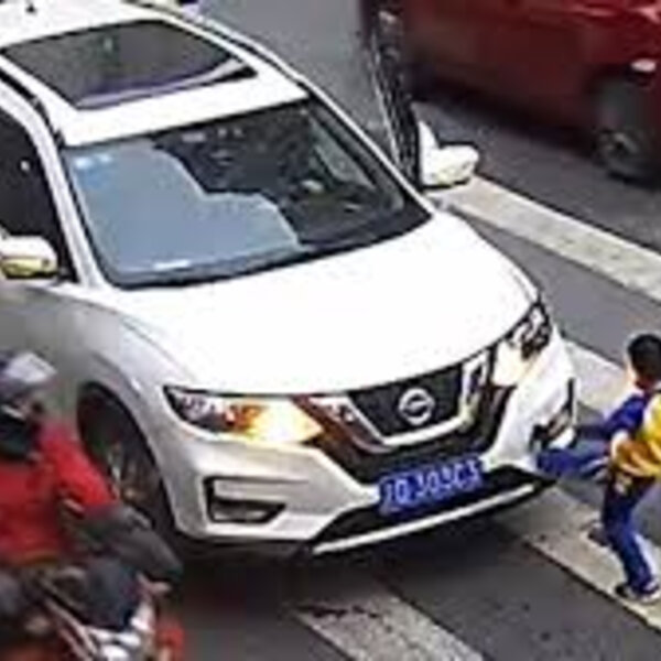 What's Viral - Boy kicking car after it knocks mom on zebra crossin