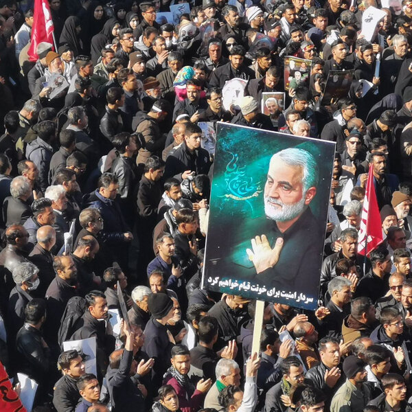 Iran's Funeral Stampede (50 people are reported to have been crushed to death