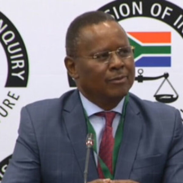 Reverend Frank Chikane testifies before Zondo commission