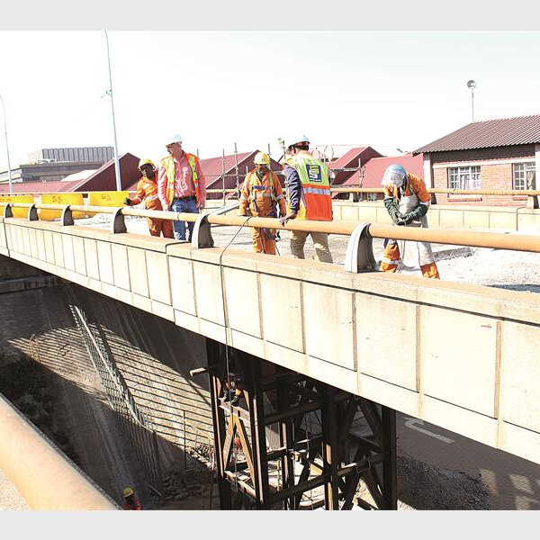 Update on the progress made to rehabilitate M2 Bridge JHB Road Agency