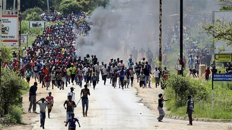 Zimbabwe protests after fuel price hike