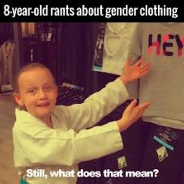 What's Viral - 8 year old rants about gender clothing