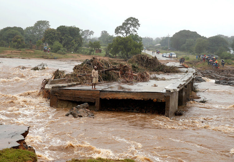Cyclone Idai left a trail of destruction after hitting Mozambique, Zim and Malawi