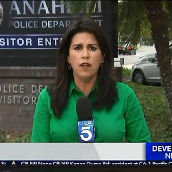 What's Viral - Bizarre moment a California reporter explains on air