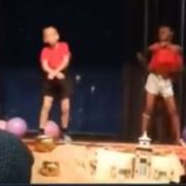What's Viral - Young boy's school concert dance moves delights Twitter