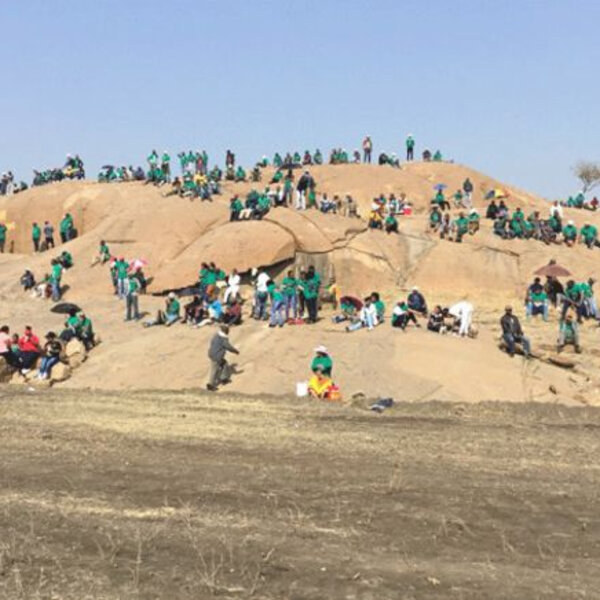 Seventh anniversary of the Marikana Massacre which saw 34 miners gunned down