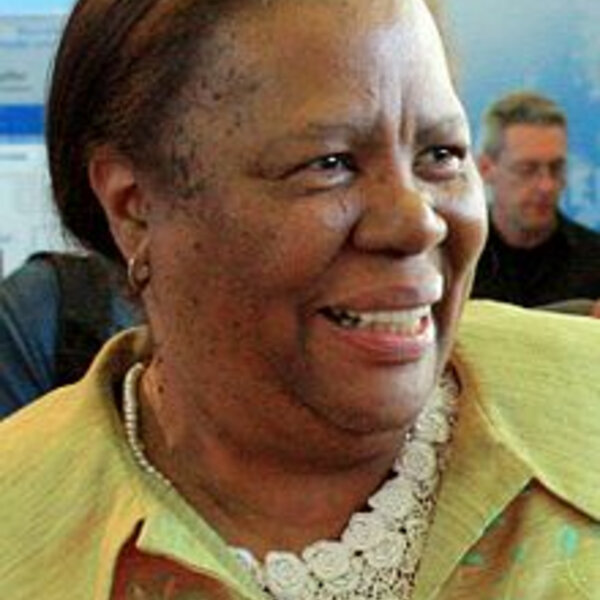 Minister Pandor explains her discussion with Zindzi Mandela