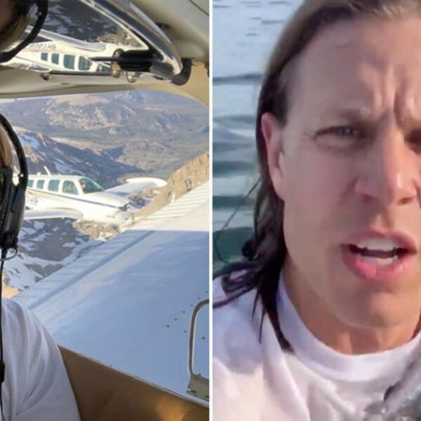 What's Viral - Pilot films the aftermath of his plane crashing into the ocean