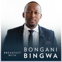 Bongani talks to Bheki Cele.