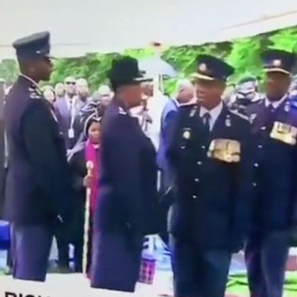 What's gone viral - SAPS officers embarrassing themselves at Maponya's funeral