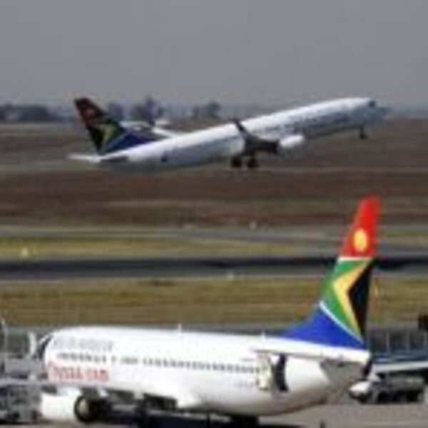 SAA has cancelled all flights scheduled for Friday and Saturday