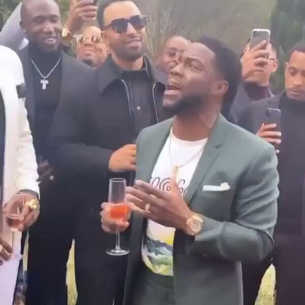 What's Gone Viral - Kevin Hart's motivational toast
