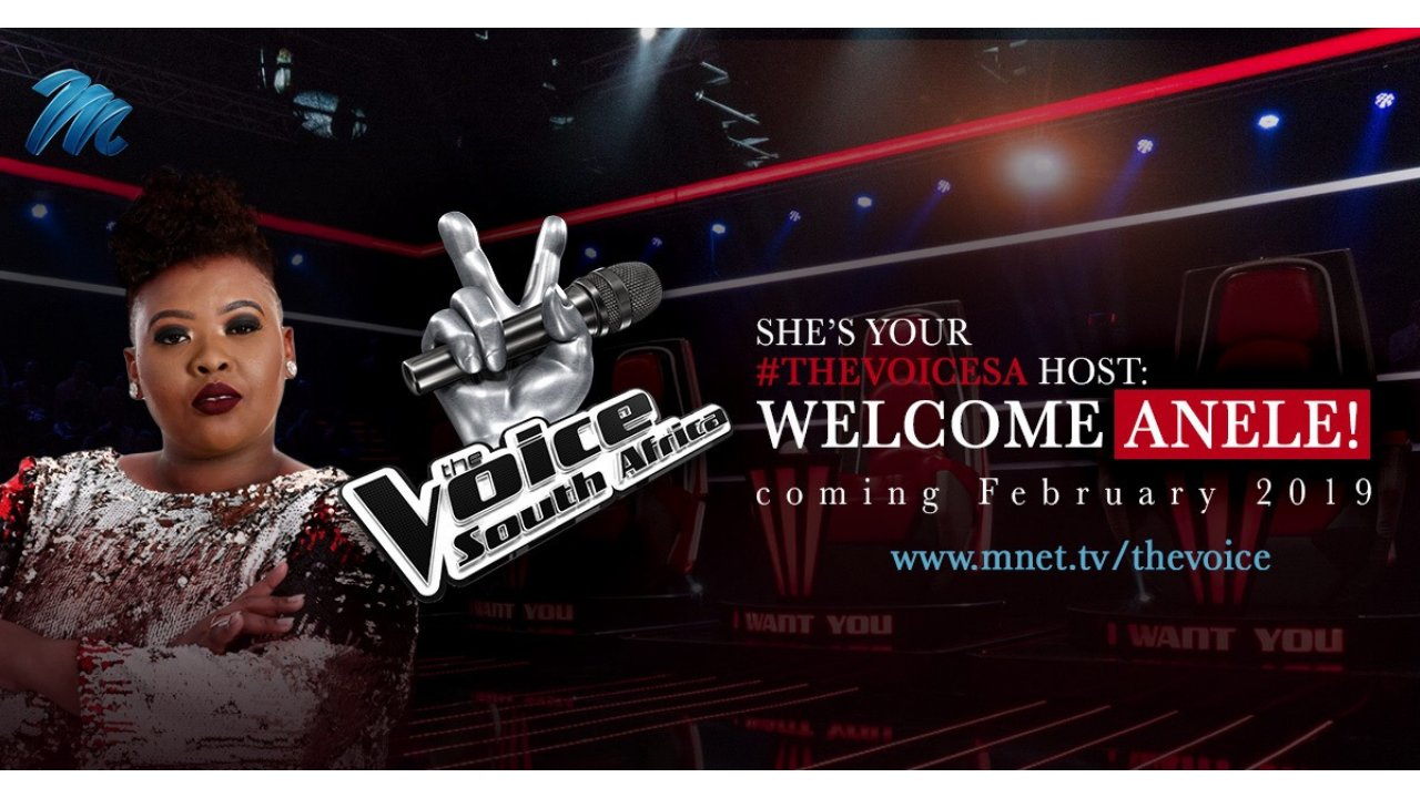 This is how you announce that you're the new host of The Voice SA like a boss!