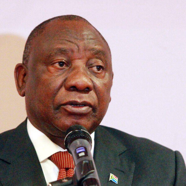 Ramaphosa dispatches envoys to a number of African countries.