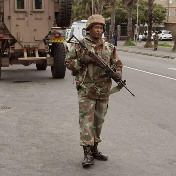 Are Premier Winde's demands for SANDF deployment realistic?