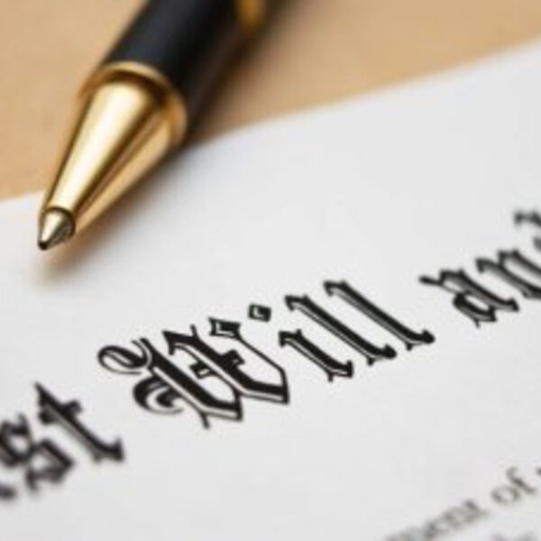 How much of your will is legally binding?