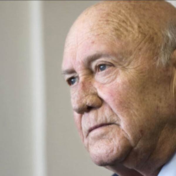 Apartheid was fundamentally evil — and FW de Klerk must face that fact - Father Michael Lapsley