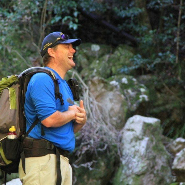 Hiking with Tim Lundy: Arangieskop Trail.