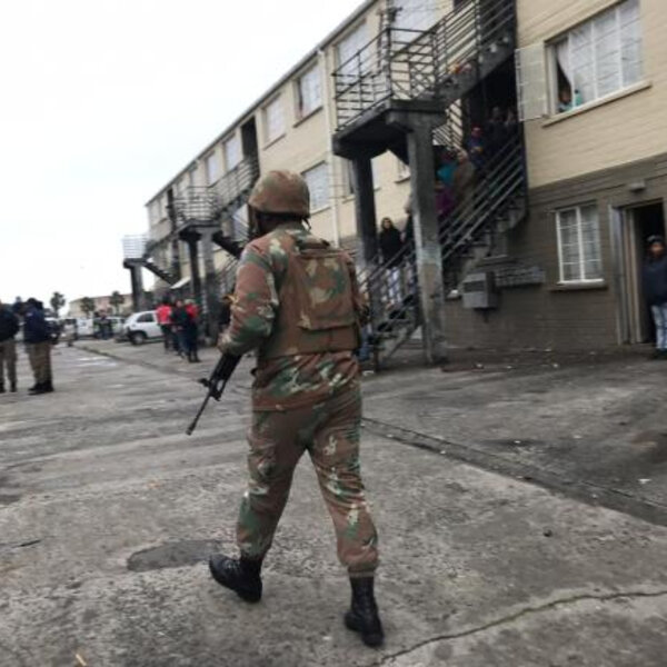 SANDF assaults