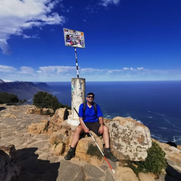 Chris Venter - The blind hiker that conquered Lion's Head