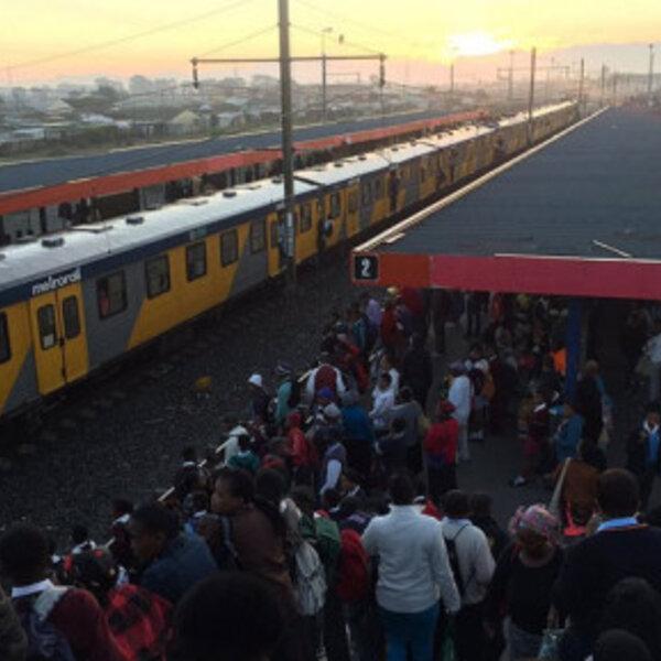 Unite Behind responds to Metrorail's provincial service suspension