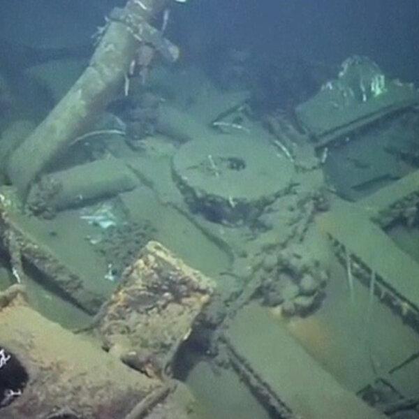WW2 ship salvaging