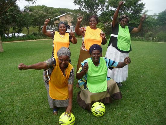 SAEFA on the Elderly Women's World Cup