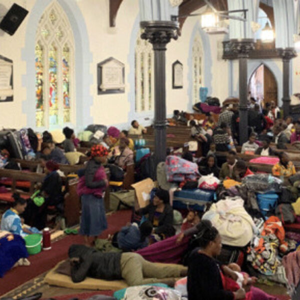 Greenmarket Square refugee standoff