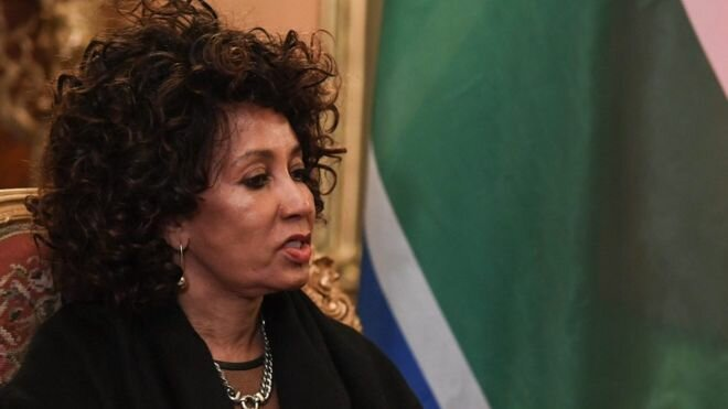 Rwanda insults South Africa's foreign minister