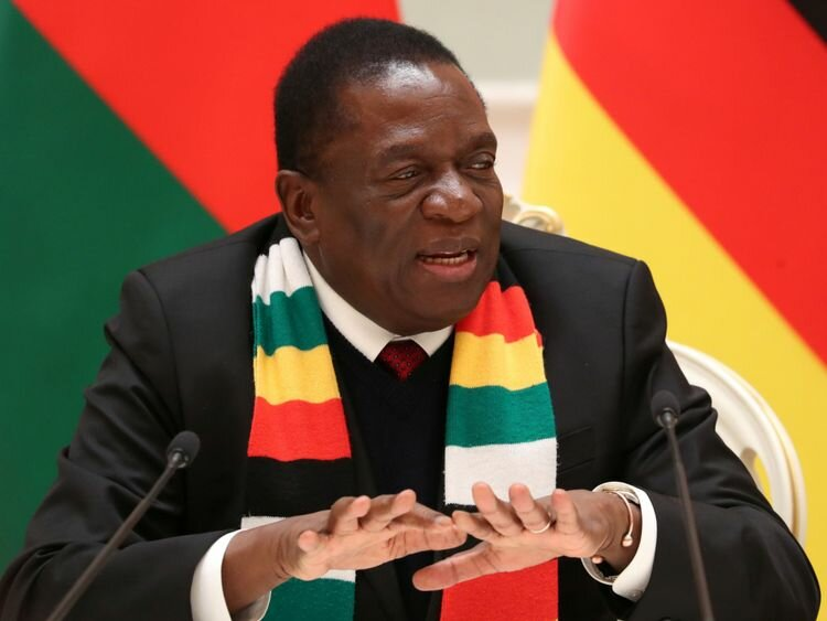 Violence by security forces a betrayal of the new Zimbabwe saya, Mnangagwa