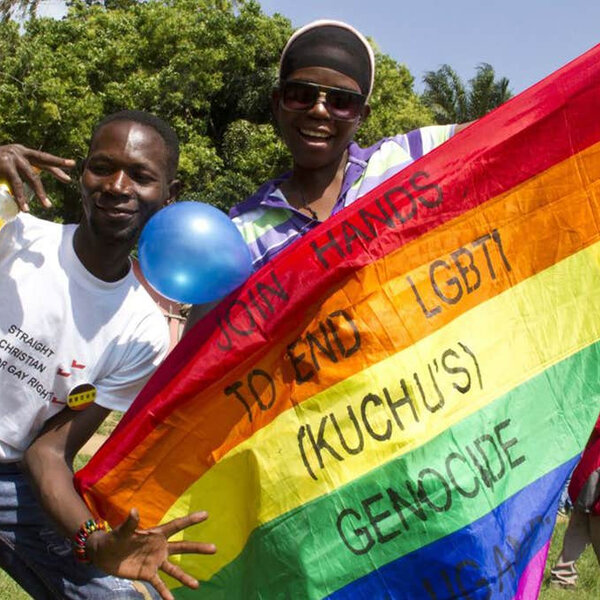 Uganda denies crackdown on gays