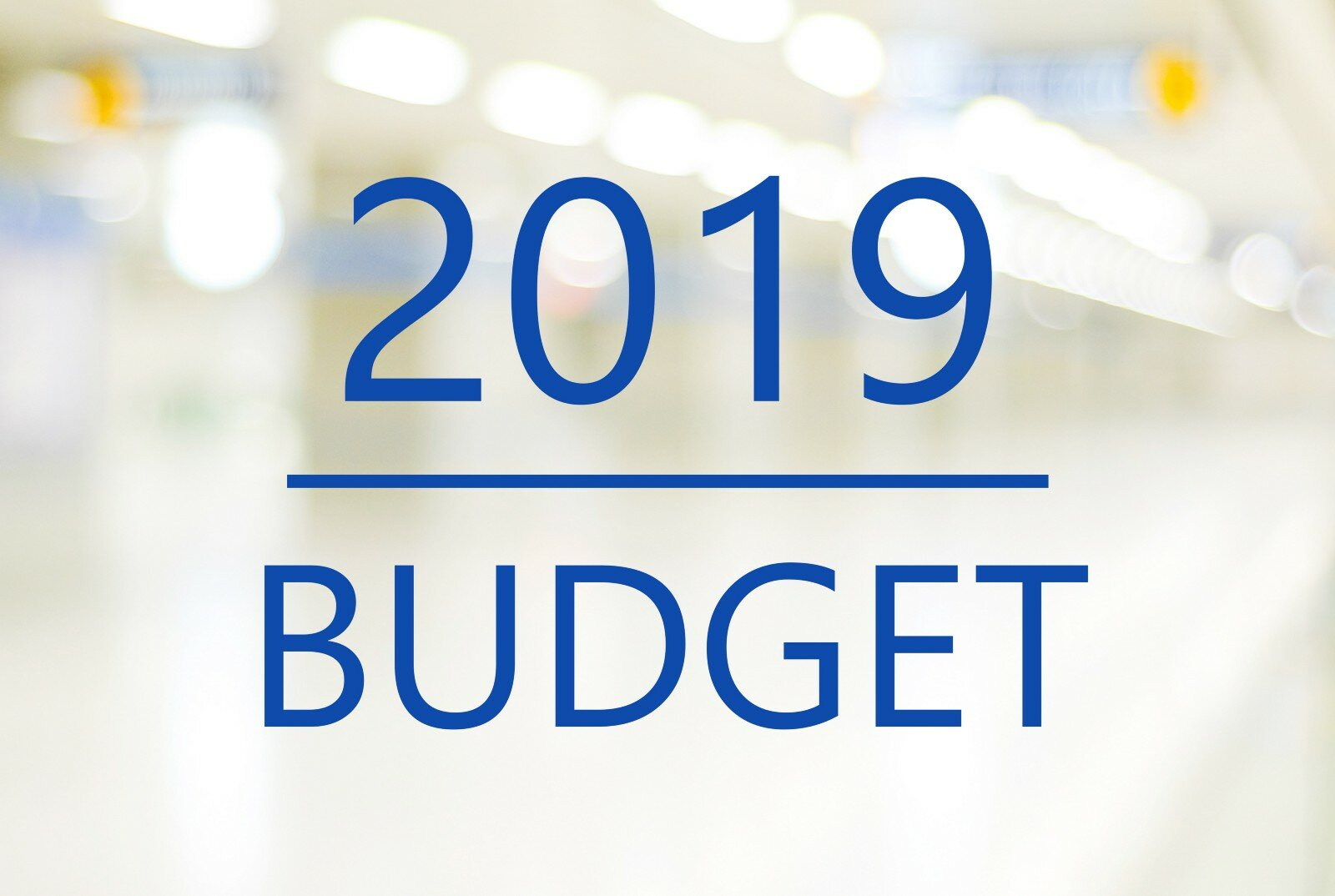 What to expect in the 2019 Budget