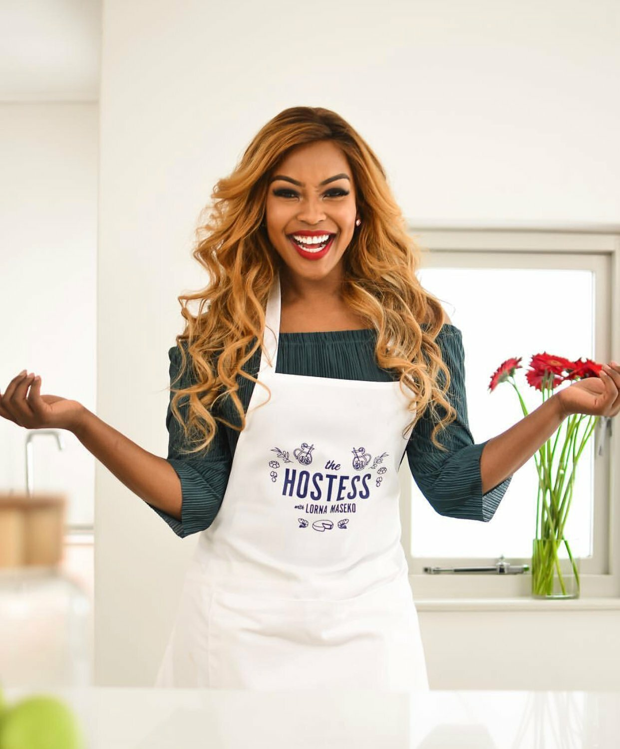 TV personality and well known international chef, Lorna maseko