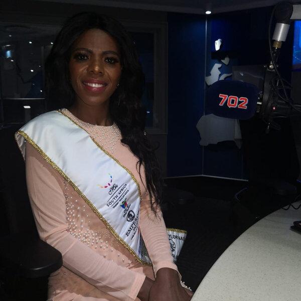 Tammy Taylor Mrs. South Africa Finalist  Vee Van Heerdan on deaf Awareness