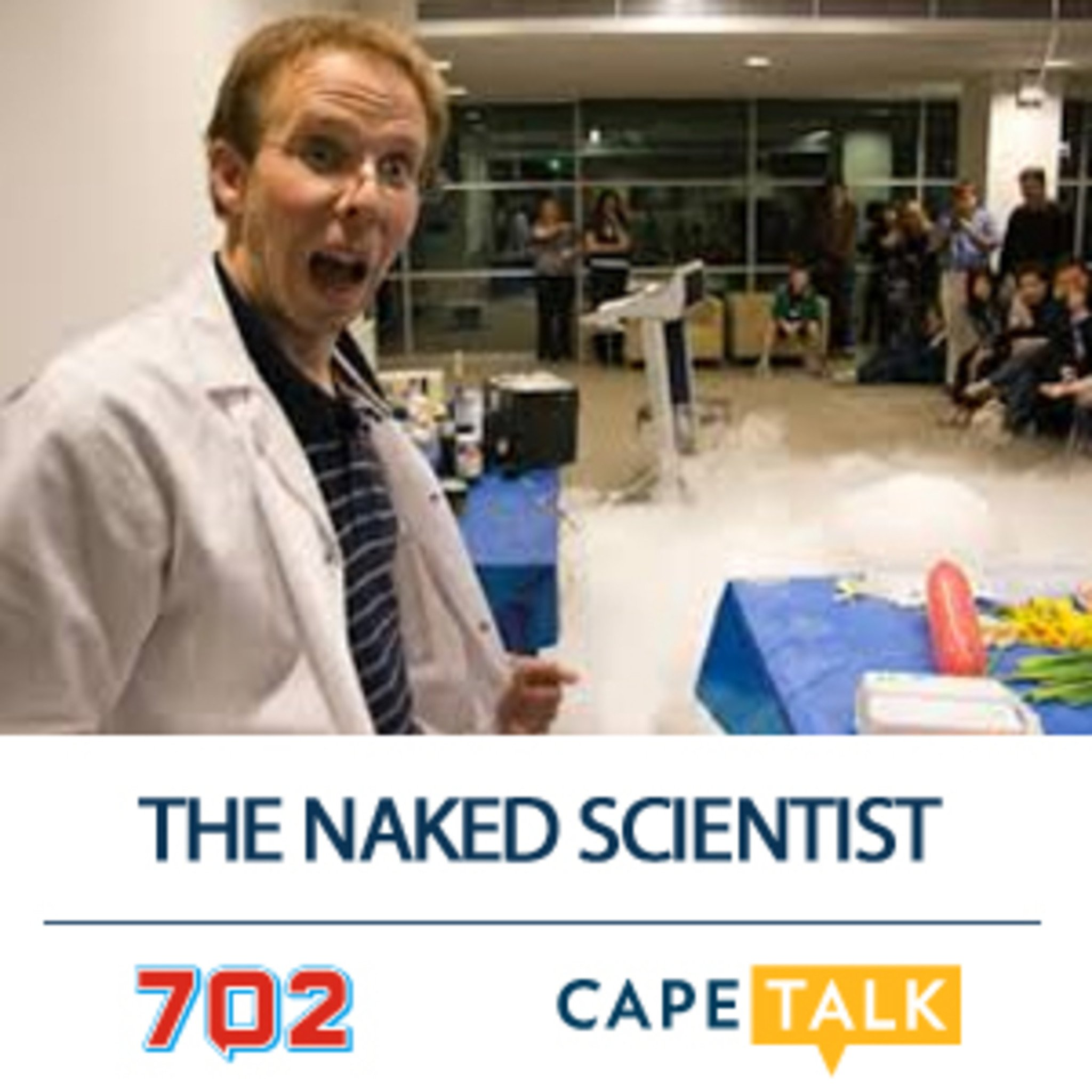 Friday stand-in Frank Magwegwe the Naked Scientist